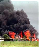 The assault at Waco