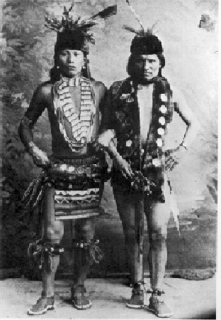 black elk and his father