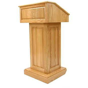 wooden podium designs