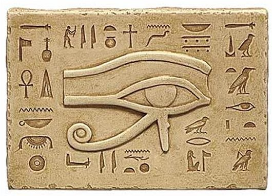 eye of ra hieroglyphics