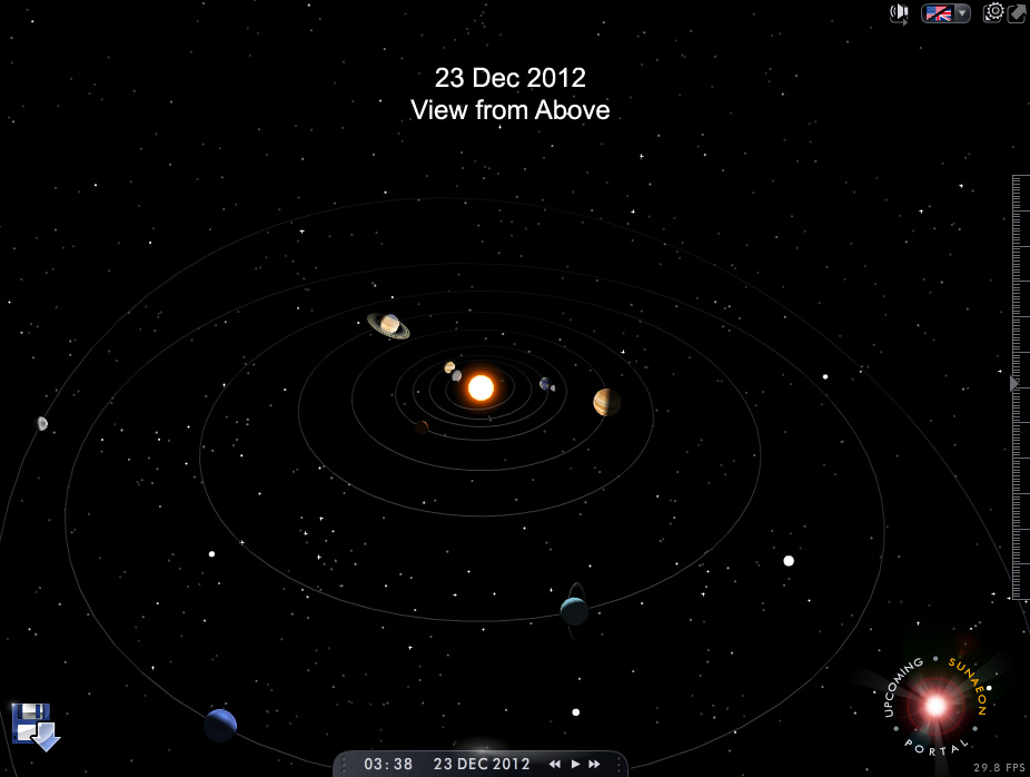 placement of planets solar system - photo #24