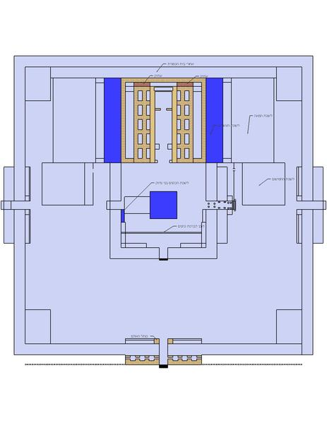 THIRD TEMPLE DIAGRAM