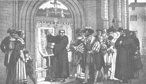 MARTIN LUTHER POSTING