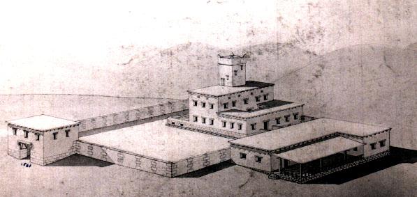 KING DAVID'S ORIGINAL PALACE
