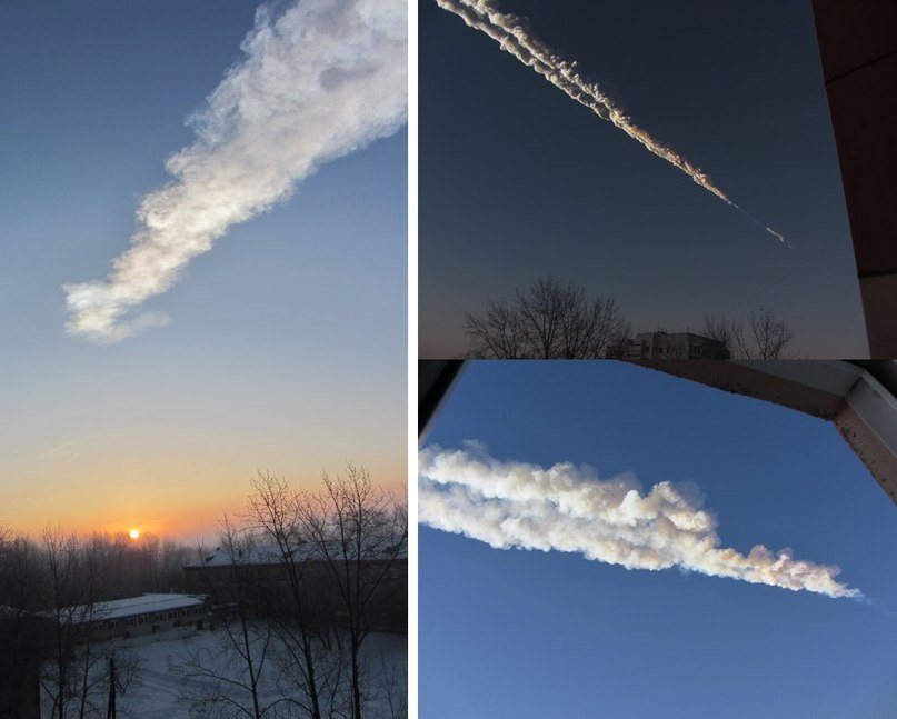 flaming asteroid hitting the earth - photo #38