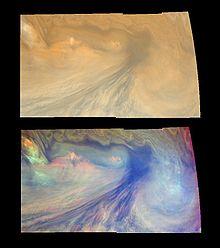 Jovian   Hotspot   in visible