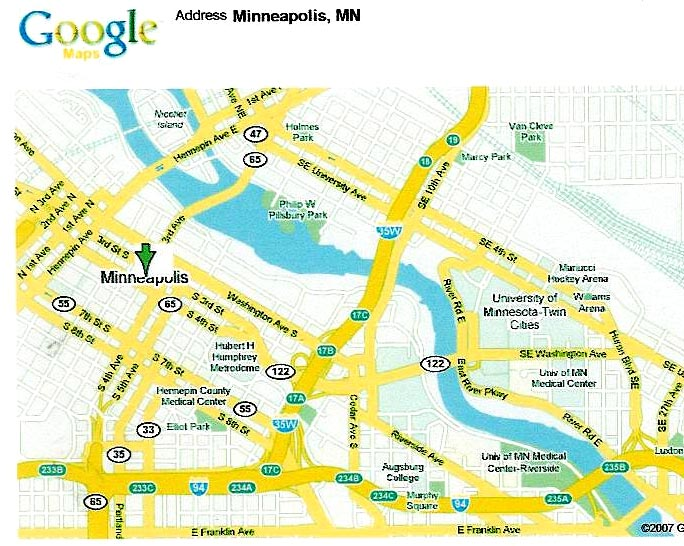west of mississippi river map. I-35 West Bridge Collapses