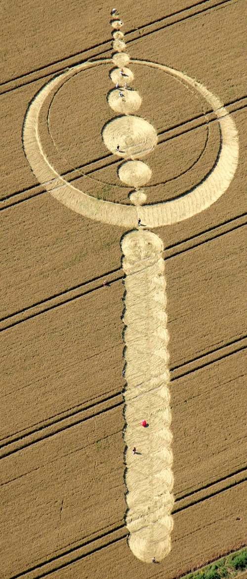 crop circle windmill hill 7-25-12