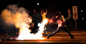 Ferguson, MO, became one of a number of American cities hit with racial tension.