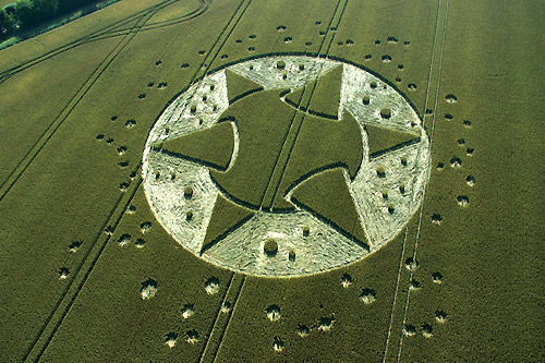 Crop Circles Galactic-mace