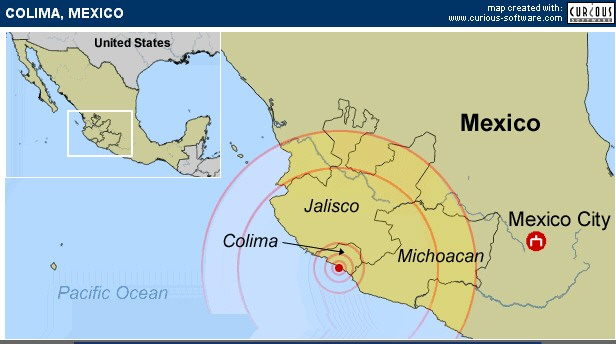 colima mexico earthquake 1 22 2003