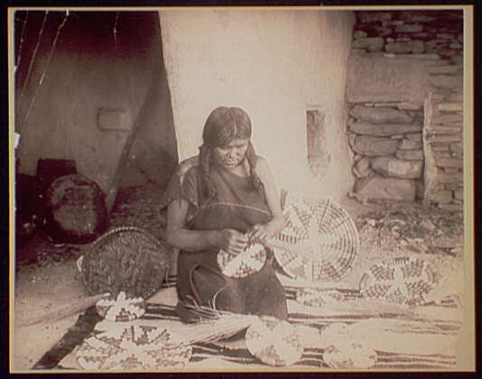 Traditional Native American Basket Weaving : Weaving the mythology and reality