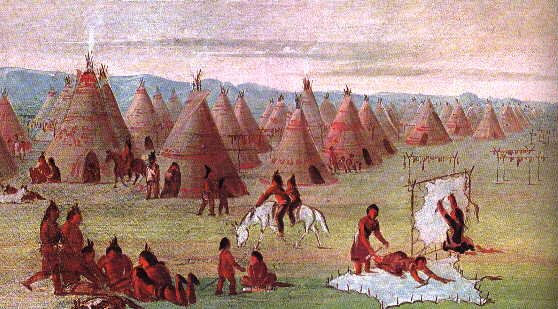 an introduction to the history of the comanche An introduction to lakota culture and history  the first meeting took place in the valley of medicine lodge creek in kansas where kiowa, comanche, cheyenne .