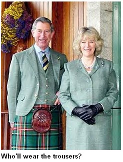 The idea of Charles and Camilla as a couple was gradually being