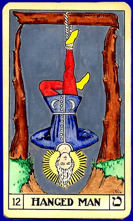 THE NEXT POPE - THE ANTI-POPE - THE HANGED MAN