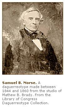 samuel morse quotes  SAMUEL F.B. MORSE