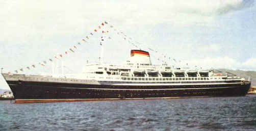 """the long history of the ill fated lusitania Mauretania, transatlantic passenger liner of the cunard line, called the """"grand old lady of the atlantic"""" it was launched in 1906 and made its maiden voyage in 1907 thereafter, it held the atlantic blue riband for speed until 1929, challenged only by its sister ship , the lusitania (sunk by a german submarine on may 7, 1915)."""
