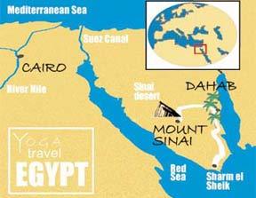 TERRORISM - Map of egypt dahab