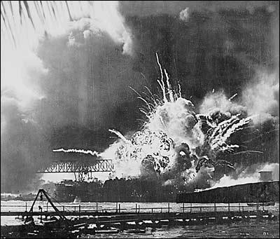 japan bombed pearl harbor