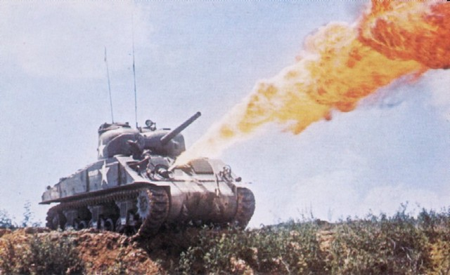 Projectile Weapon Tactis Sherman_flamethrower